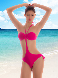 Brazilian swim suit - Raspberry