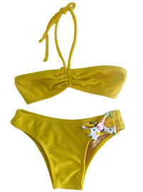 Kids Brazilian Bikini - Sweet honey