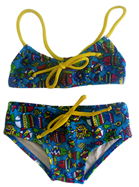 Kids Brazilian bikini - Pure love
