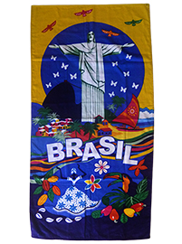 Brazilian Beach towel -Brazil