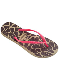 Flip Flops - Slim Animals Fluor