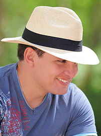 Panama Cuenca Hat - Fedora for Men