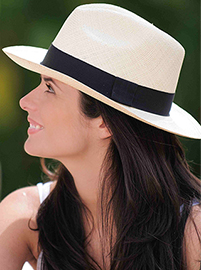Panama Cuenca Hat - Fedora for Women