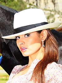 Fedora Panama Montecristi Hat for Women