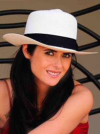 Panama Hat - Colonial for Women - White