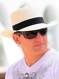Colonial Panama Hat for Men - Natural
