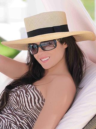 0e19fda271187 Sombrero de Panamá Cuenca - Chemise para Mujer Ala Ancha